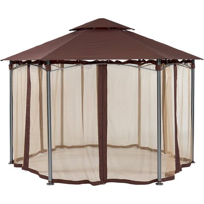 "Gazebo esagonale ""Laurel Bay"" 390 x 390 x 270cm"