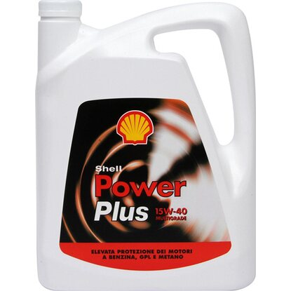 Olio SHELL POWER PLUS 15W40  4 l