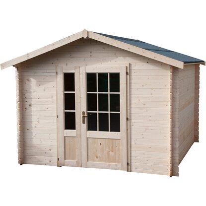 Casetta blockhaus in legno procida cm 300x300 acquista da obi for Casette in legno obi