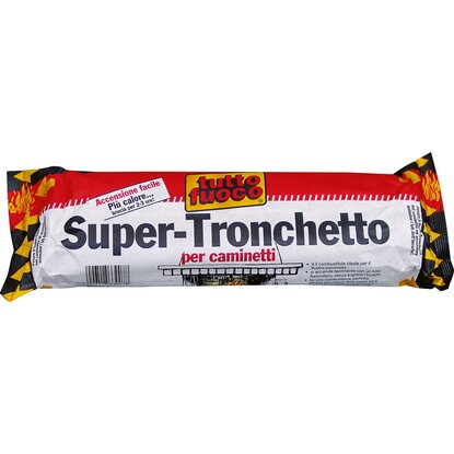 Super tronchetto per caminetto