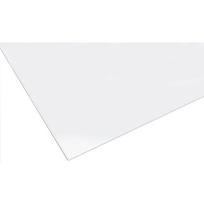 Lastra in vetro sintetico poliver 500 mm x 1000 mm x 4 mm for Lastre bituminose obi