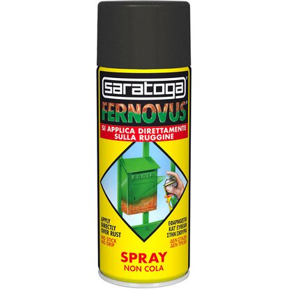 Saratoga spray Fernovus 400 ml micaceo nero antico