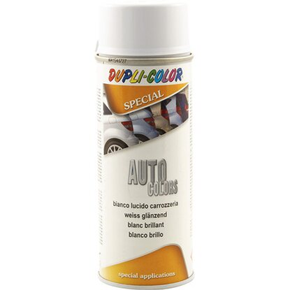 Vernice Spray auto colors carrozzeria 400 ml bianco lucido