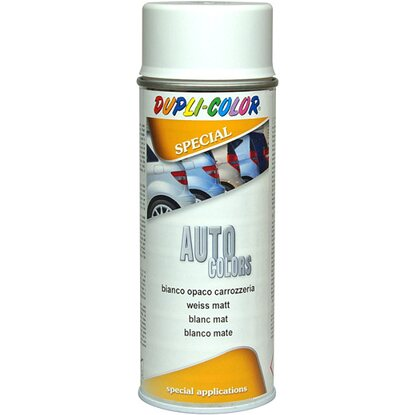 Vernice Spray auto colors carrozzeria 400 ml bianco opaco
