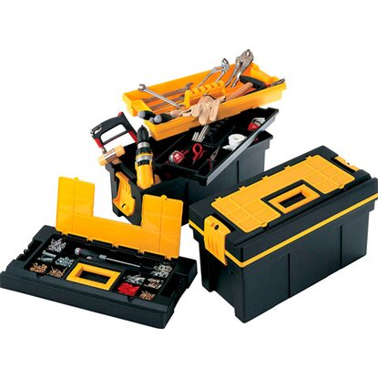 Portautensili Pro Tool Chest 22 nero-giallo