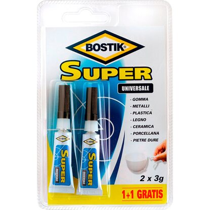 Bostik colla Super Control 2 x 3 g