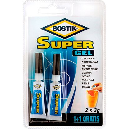 Bostik colla Super Gel 2 x 3 g