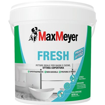 MaxMeyer idropittura supertraspirante Fresh 4 l
