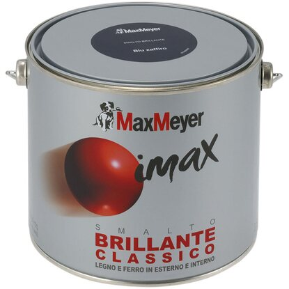 MaxMeyer smalto Imax sintetico brillante marrone 2,5 l