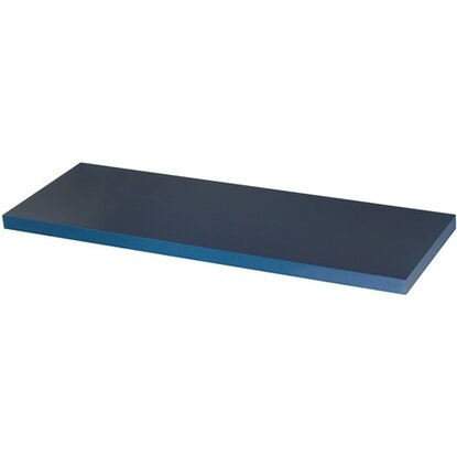 Mensola linea Glam Color blu brillante 900 mm x 230 mm x 25 mm