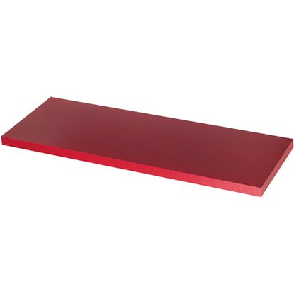 Mensola linea Glam Color rosso lampone 900 mm x 230 mm x 25 mm