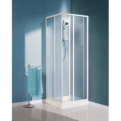 Box angolare Hawaii in vetro stampato