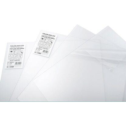 Lastra di vetro sintetico per uso esterno 1000 mm x 1000 for Lastre vetro sintetico