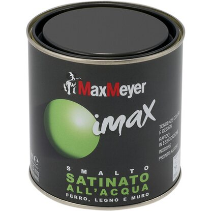 MaxMeyer smalto Imax all`acqua satinato verde scuro 0,5 l