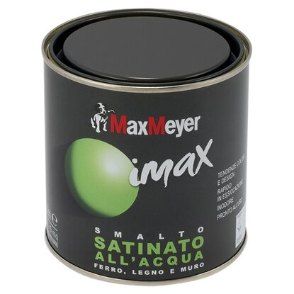 MaxMeyer smalto Imax all`acqua satinato marrone 0,5 l