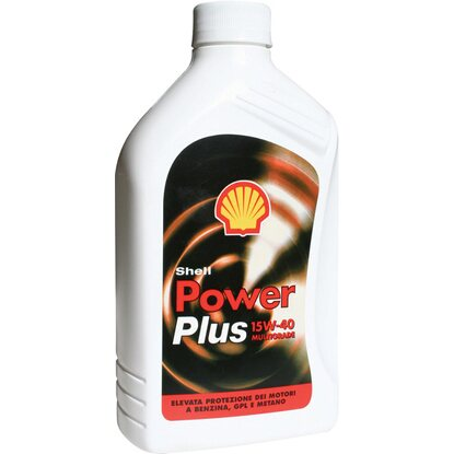 Olio SHELL POWER PLUS 15W40  1 l