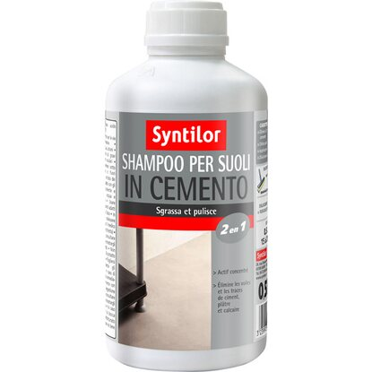 Detergente preparatore per suoli in cemento 500 ml