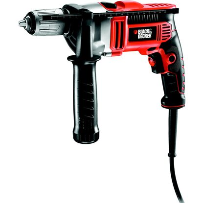 BLACK+DECKER trapano a percussione 750 W in valigetta