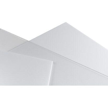 Lastra in vetro sintetico opalino poliver 500 mm x 1000 mm for Lastre bituminose obi
