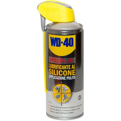 Lubrificante spray al silicone WD40 400 ml