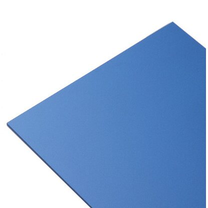 Lastra in Pvc espanso Multiexel 250 mm x 500 mm blu