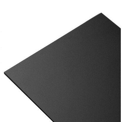 Lastra in Pvc espanso Multiexel 500 mm x 500 mm nero