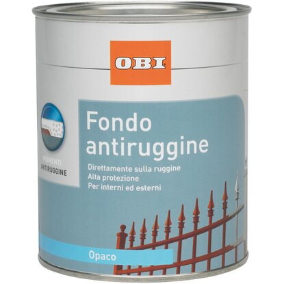 OBI base antiruggine rosso marrone opaco 750 ml