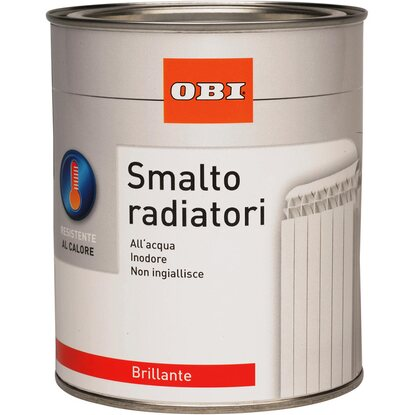 OBI smalto brillante per caloriferi grigio 750 ml