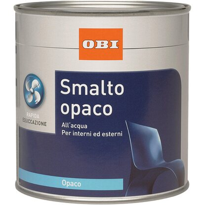 OBI smalto opaco nero 500 ml
