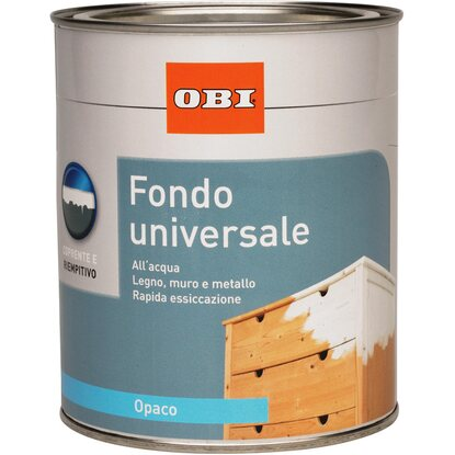 OBI Express fondo all`acqua universale bianco opaco 750 ml
