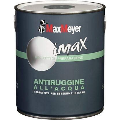 MaxMeyer fondo antiruggine all`acqua grigio 0,5 l