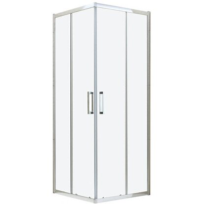 Box doccia rettangolare london 70 cm x 90 cm x 200 cm for Obi box doccia