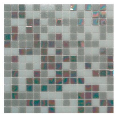Mosaico decorativo Mix Classic Plus grey 32,7 cm x 32,7 cm