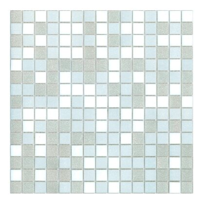 Mosaico decorativo Mix Classic bianco neige 32,7 cm x 32,7 cm