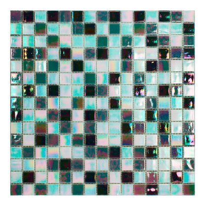 Mosaico decorativo Mix Reflex black & white 32,7 cm x 32,7 cm