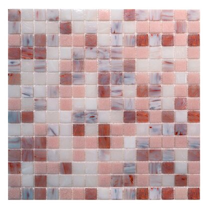 Mosaico decorativo Mix Classic Plus rosy light 32,7 cm x 32,7 cm