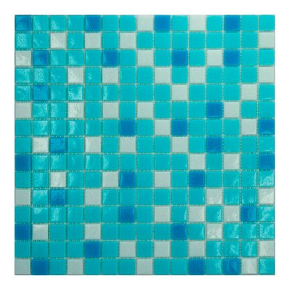 Mosaico decorativo Mix Classic swimming 32,7 cm x 32,7 cm