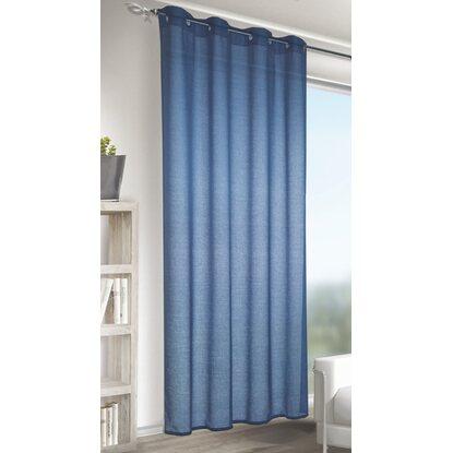 Tenda con anelli colore blu acquista da obi - Aste per tende finestre ...