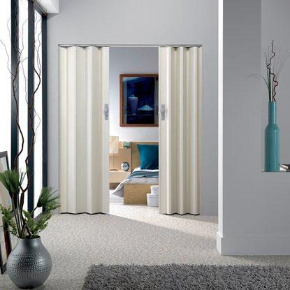 porta soffietto axia bianco venato acquista da obi. Black Bedroom Furniture Sets. Home Design Ideas