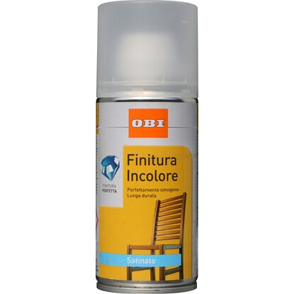 OBI vernice spray Finitura satinata incolore 150 ml