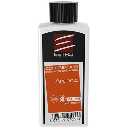 Colorante universale per interni arancio 40 ml