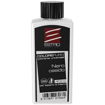 Colorante universale per interni nero ossido 40 ml