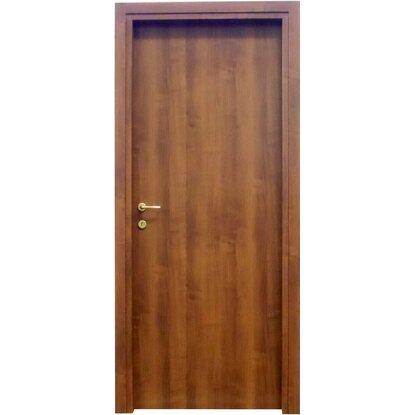 Porta a battente reversibile badia noce 210 cm x 90 cm acquista da obi - Verniciare porte interne a spruzzo ...