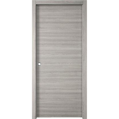 Porta scorrevole reversibile thuile grigio quarzo 200 cm x - Porte interne obi ...