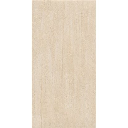 Pavimento gres porcellanato travertino beige 30,2 cm x 60,4 cm