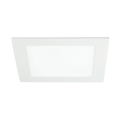 Intec incasso Flap LED integrato 12W quadro bianco