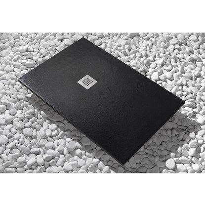 Piatto doccia newstone 160 cm x 70 cm nero acquista da obi - Piatto doccia nero ...