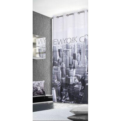 Tenda arredo con anelli fantasia New York