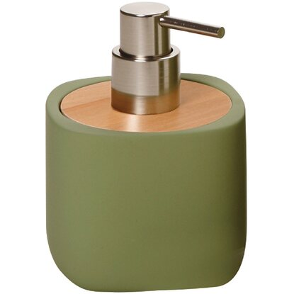 Dispenser sapone in ceramica Twin verde