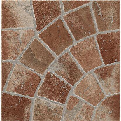 Piastrella gres porcellanato trevi rosso 32 5 cm x 32 5 cm for Obi piastrelle